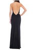 Halter Neck  Maxi Dress back