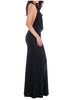 Halter Neck  Maxi Dress side