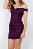 Bardot Glitter Mini Dress