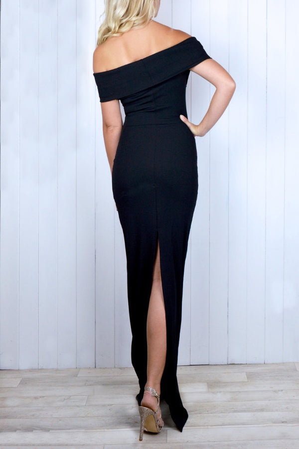 Eleanor Bardot Body Con Dress