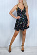 Layla Black Floral Cami Dress