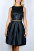 Julie Black Prom Skirt