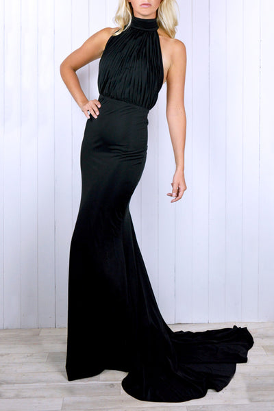 Josephine Backless Gown