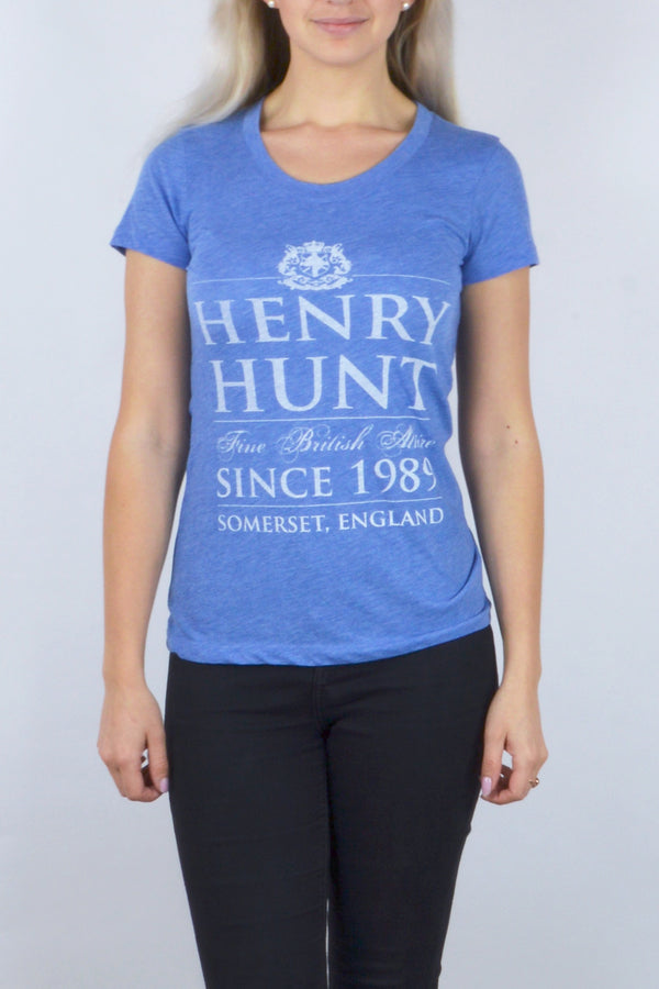 Limited Edition Henry Hunt Tshirt - Blue