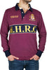 burgundy rugby shirt