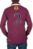 mens burgundy rugby shirt