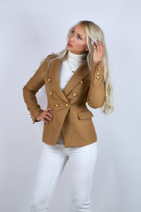 Connie Double Breasted Blazer