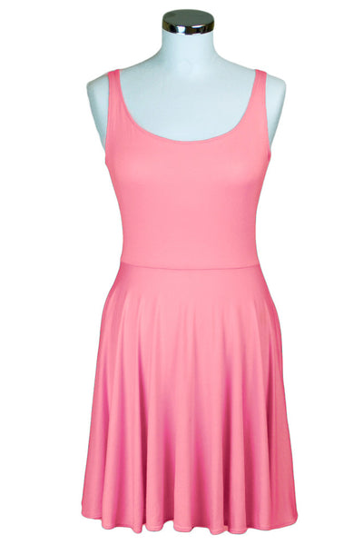 Pippa Coral Skater Dress - Size 10