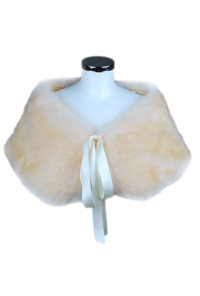 Brides / Bridesmaids Faux Fur Stole