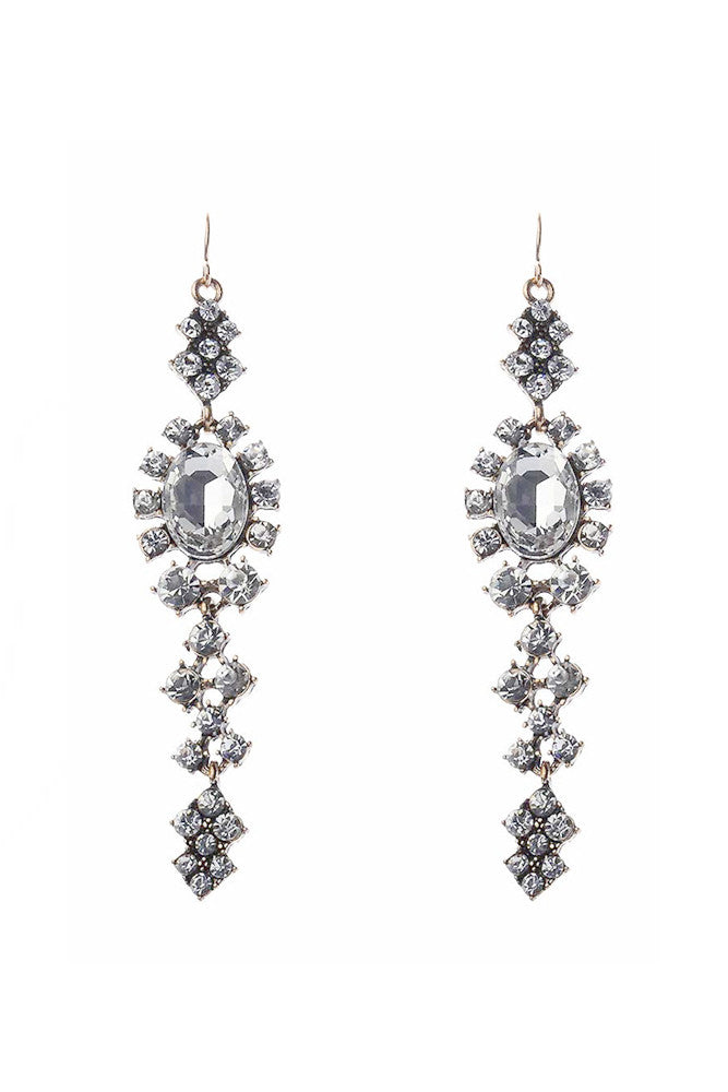 Diamond Crystal Earrings