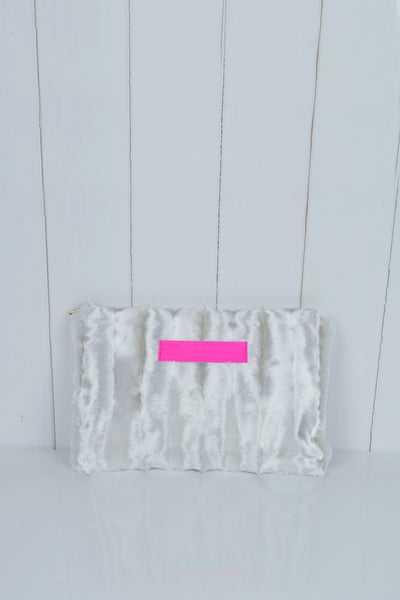 Faux Fur Clutch Sample