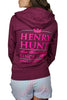 burgundy zip hoody back