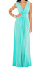 Aqua Turquoise maxi dress