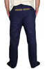 mens navy trackies