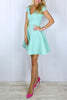 Daphne Mint Skater Dress