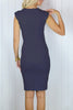 Daniella Navy Blue Bodycon Dress