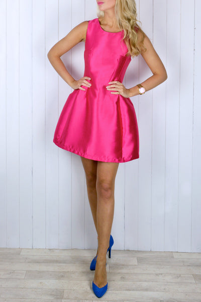 Jenny Pink Prom Dress
