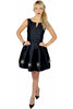Diamante Black Prom Dress