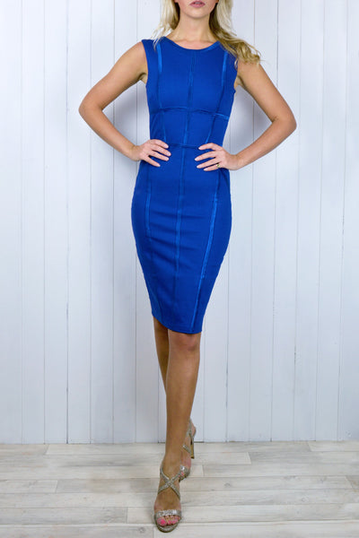 Hetty Royal Blue Body Con Dress