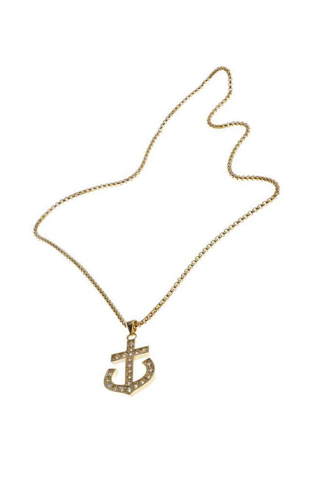 Small Anchor Necklace