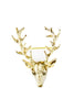 Gold Stag Brooch