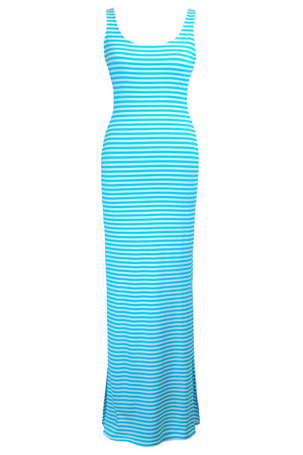 Rae Turquoise Maxi Dress
