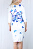 Sally Floral Midi Dress