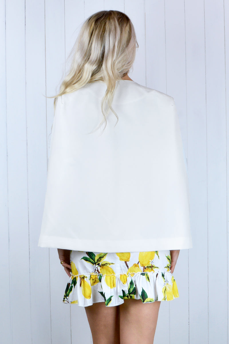 Harriet Tailored Cape Blazer