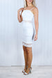 Sasha White Crochet Dress