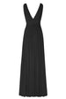 Black Maxi Dress BAck