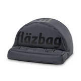flazbag bold (dark grey color) with black silicone printing