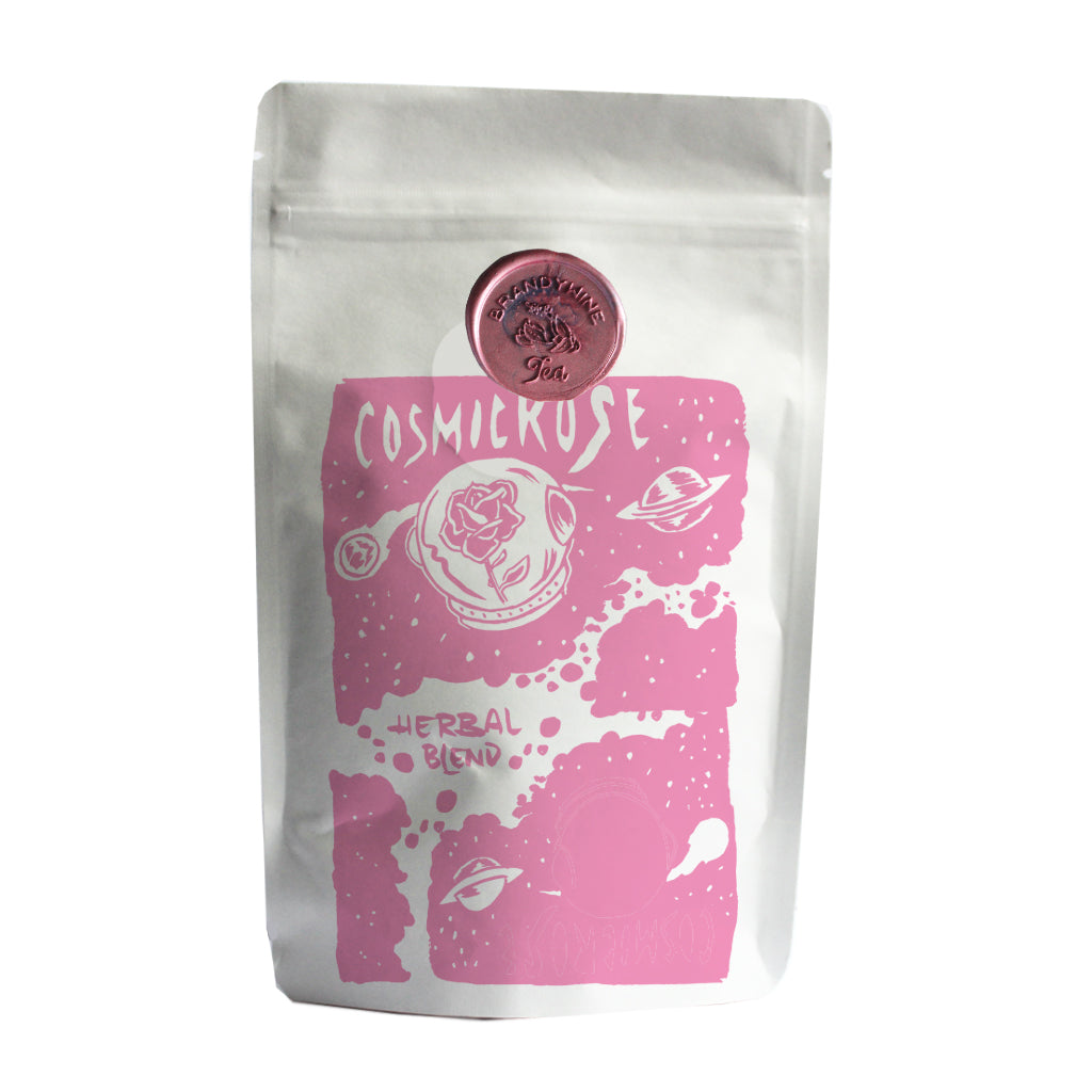 Cosmic Rose - Herbal Sachets - Hibiscus and Rose Hips - 16 ct