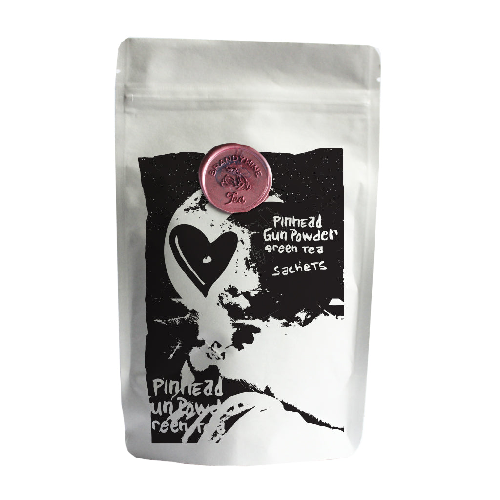 Pinhead Gunpowder Green Tea Sachets - 16ct