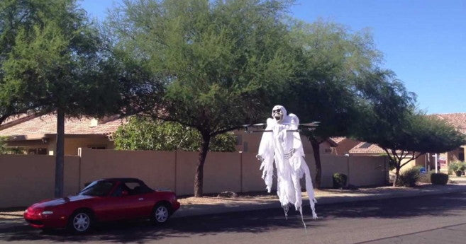Quadcopter Ghost Costume