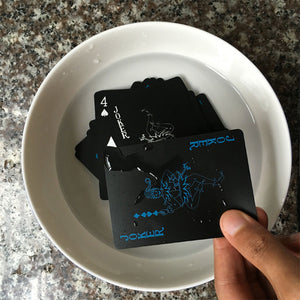 Frosted Waterproof Poker Cards