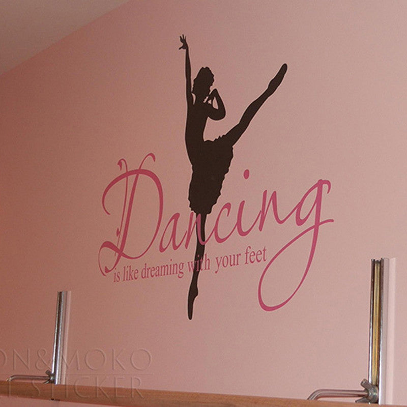 Dancing Ballerina Wall Sticker