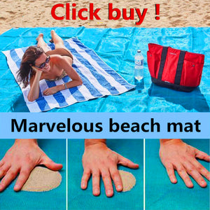Magical sand-free mat