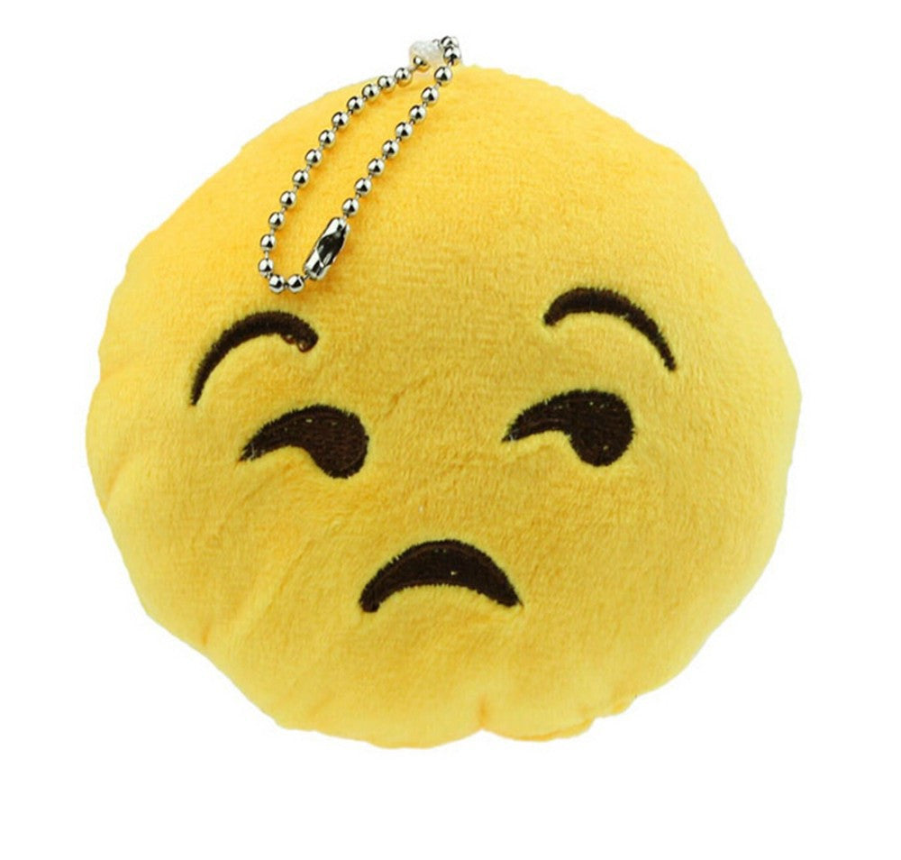 Cute Emoticon Key chain in 10 different styles