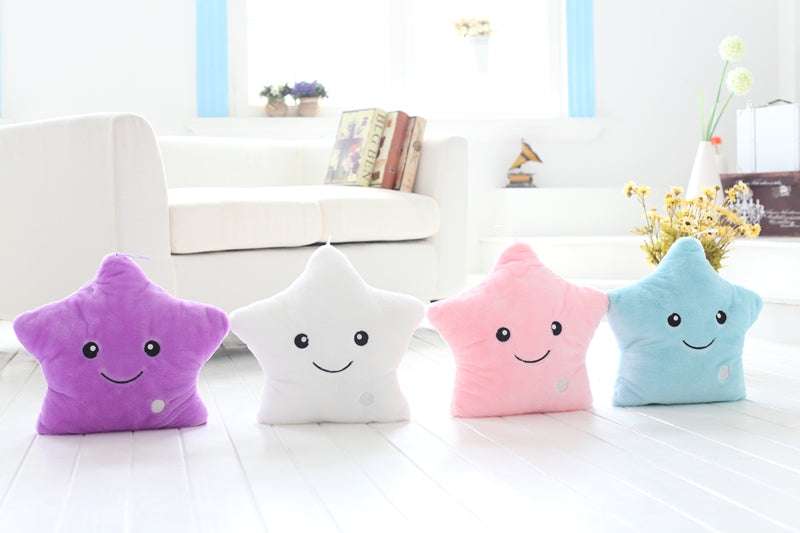 Star Shaped LED Pillow