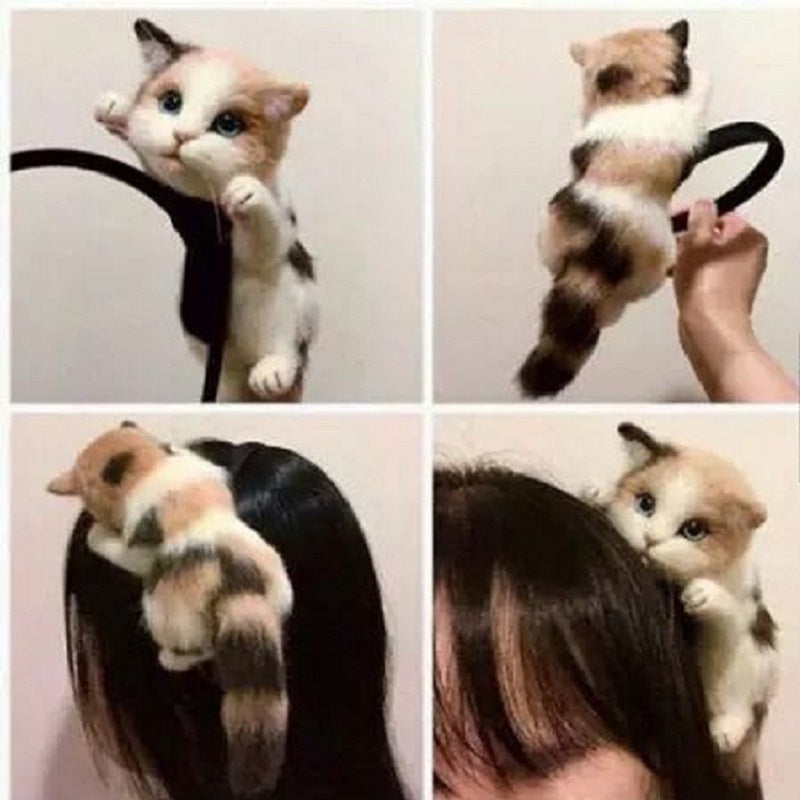 Cute Cat Hairband