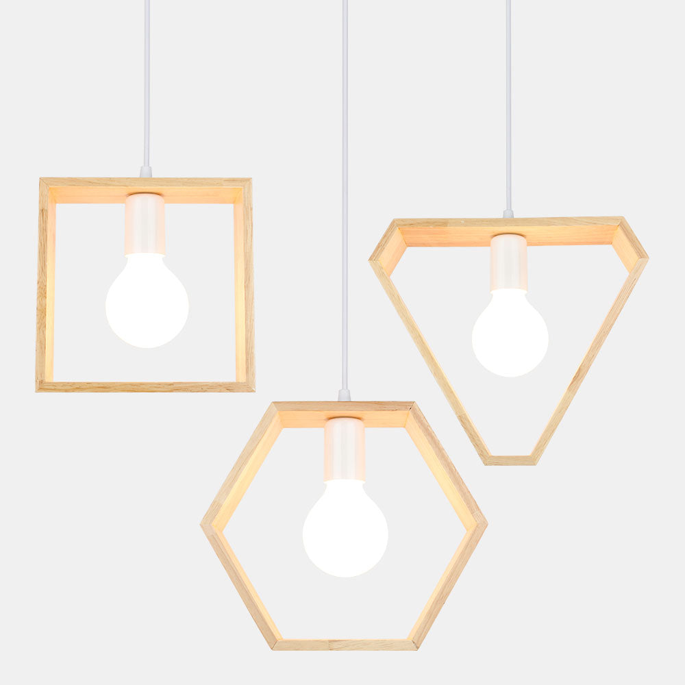 Modern Wooden Lights