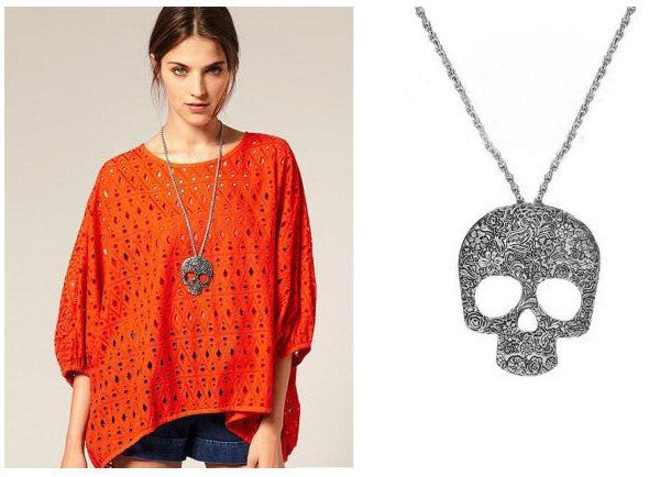 Giant Skull Necklace