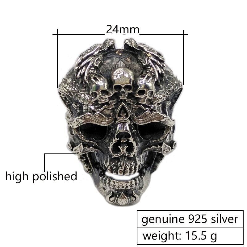 Adjustable Skull Ring