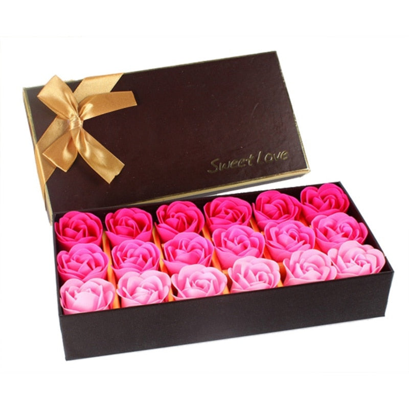Sweet Love Artificial Rose Soap