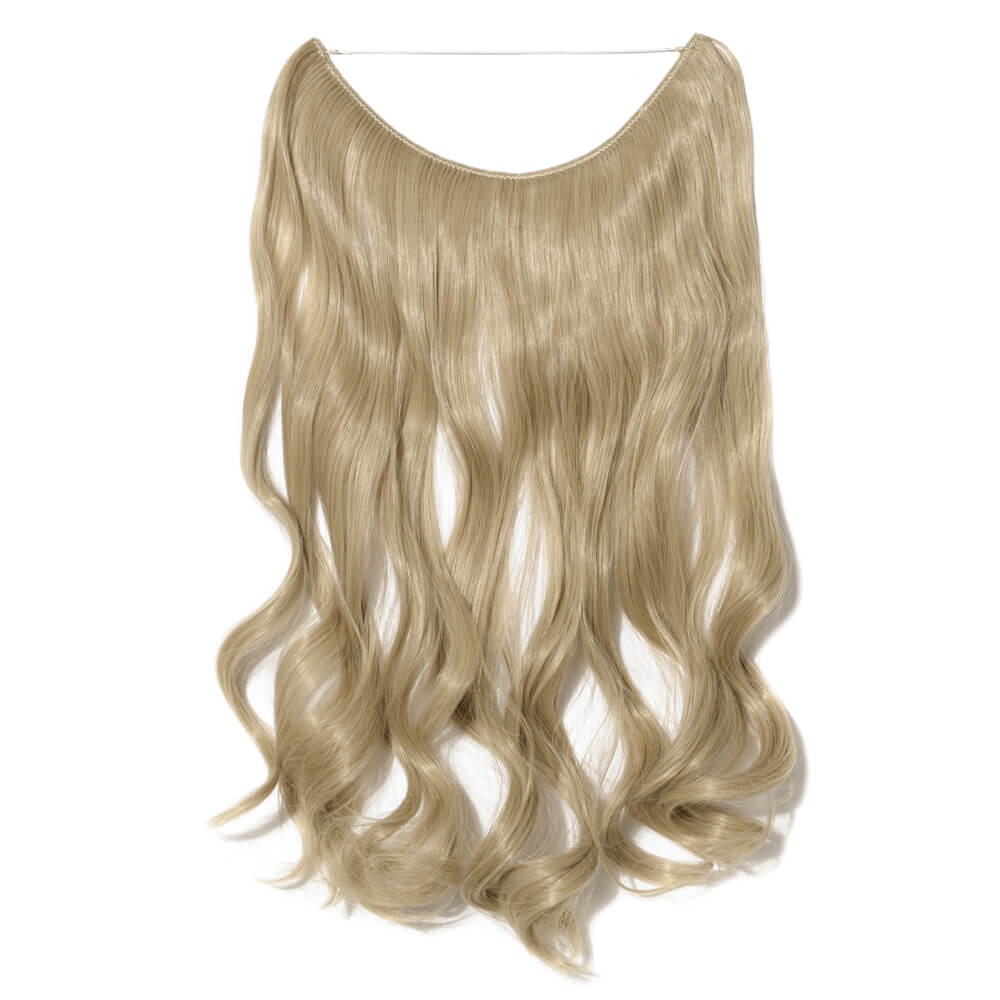 ash blonde bleach blonde mix hair extensions curly
