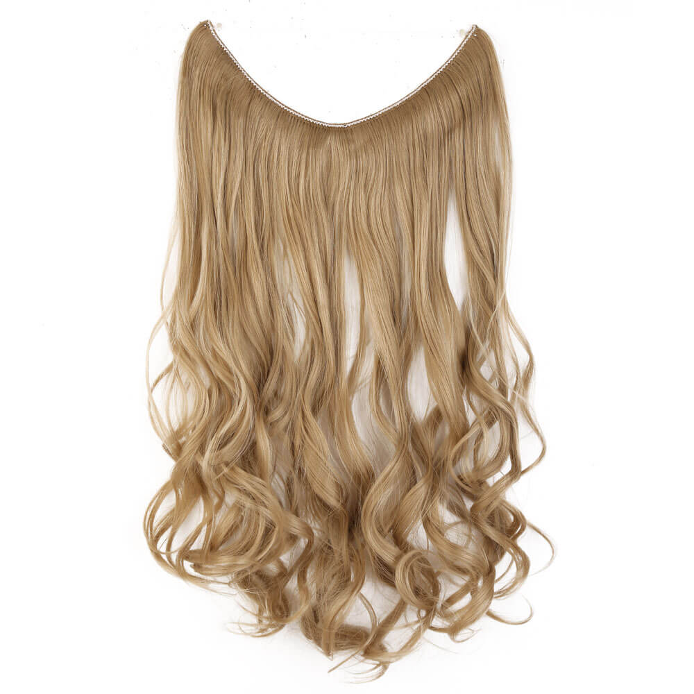 ash blonde hair extensions curly