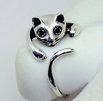 Cute Cat Shaped Ring