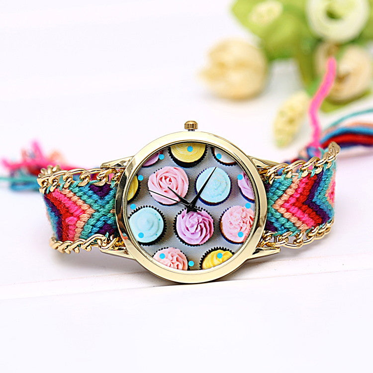 Cute Cupcake Watch