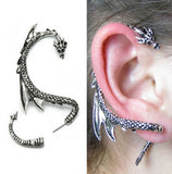 Gothic Style Dragon Earring