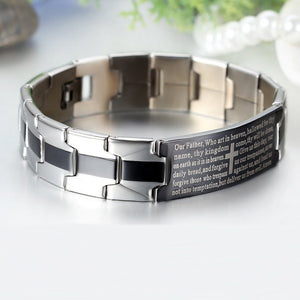 English Lord's Prayer Bracelet
